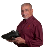 Al Gallegos, inventor of the Z-CoiL shoe